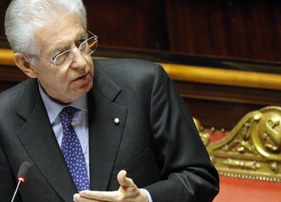 Senato - Voto di fiducia Governo Monti