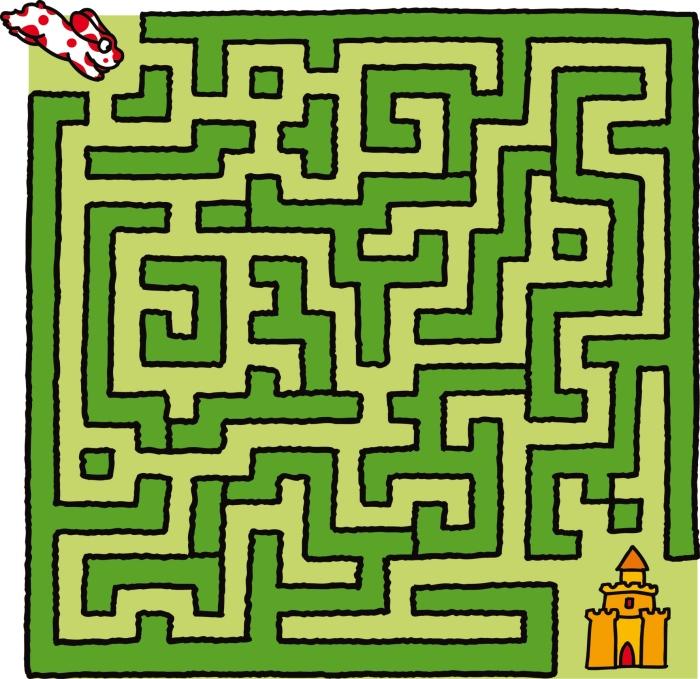 Labirinto un segugio alla ricerca della città perduta