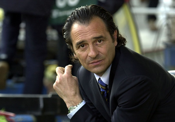 A portrait of Parma Coach Claudio Prandelli