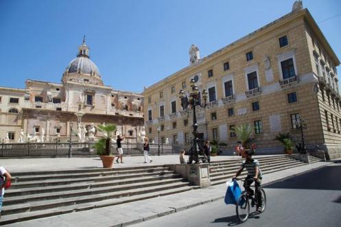 Palazzo delle Aquile, Municipio Palermo
