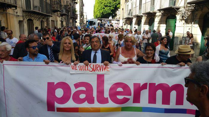 In migliaia a Palermo per il Gay Pride2016
