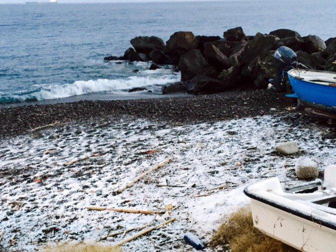 Sicilia, inverno improvviso esiberiano.